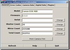 shutter count spt software